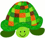 Patchwork Turtle Free Embroidery Design