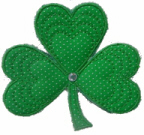 Applique Shamrock Free Embroidery Design