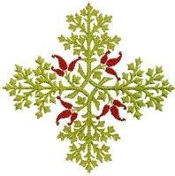 Decorative Plus Free Embroidery Design
