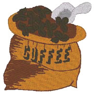 Bag of Coffee 1 Free Embroidery Design