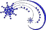 Swirling Snowflake Free Embroidery Design
