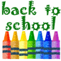 Back To School Crayons Free Embroidery Design
