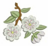 Pretty Dainty Floral Free Embroidery Design