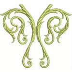 Decorative Scroll Free Embroidery Design