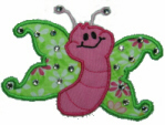 Applique Butterfly by Stitched Impressions