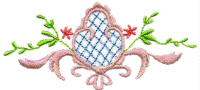 Heirloom Scroll Free Embroidery Design