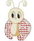 Cute Ladybug Free Embroidery Design
