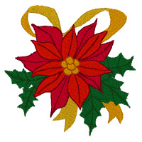 Poinsettia Gold Club Design