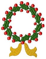 Wreath Gold Club Design