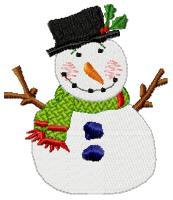 Snowman Gold Club Design